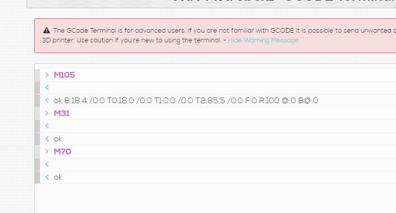 Geeetech Printers no temp feedback - Troubleshooting